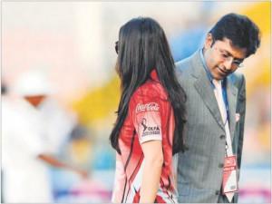 Lalit Modi checking out Preity Zinta email jokes