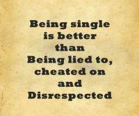 reason #being #single