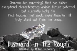 Diamonds in the Rough - Apples to Oranges