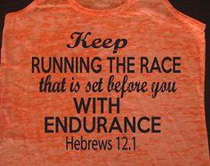 ... . Motivational Fitness. Workout Tank. Christian Clothing Inspiration