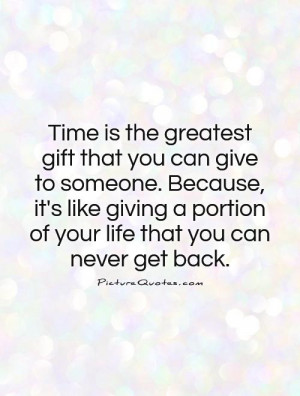 Time Quotes Gift Quotes