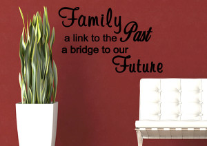 Quotes About The Past And Future Love Image is Loading Family Past ...