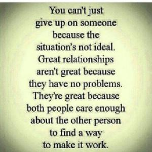Make relationship work