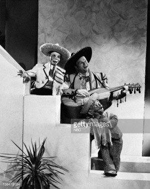 Edgar Bergen and Mortimer Snerd