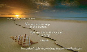 My Favorite Rumi's Quotes