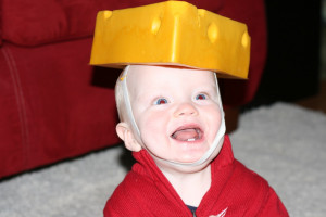 cheesehead baby