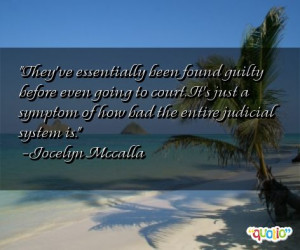 quotes about judicial system