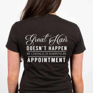 FREE SHIPPING Great Hair Stylist Tee, Hair Stylist quotes, stylist ...