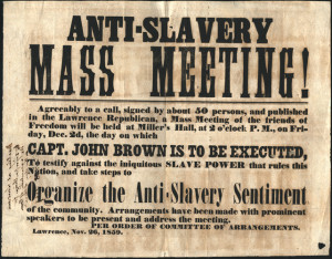 Anti Slavery Poster