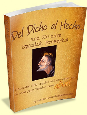 ... this book the rich world of spanish proverbs and sayings really got to