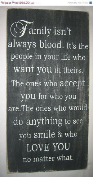 cute quotes about family isn't always blood | images of family isn t ...