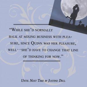 Until Next Time ~ Romance Quote