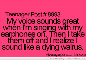 ... , love, music, pretty, quote, quotes, singing, teenager post, voice
