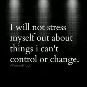 This should be the dispatchers motto. Don't stress yourself out.