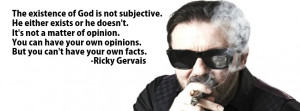Ricky Gervais Quote Facebook Cover by HenryMandorla