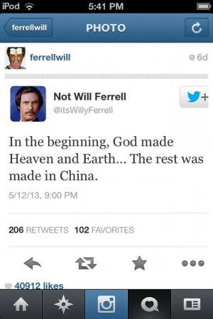 Will Ferrell Quotes Hilarious will ferrel quotes