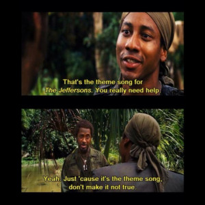 Tropic Thunder....it went there and was really funny doing it.
