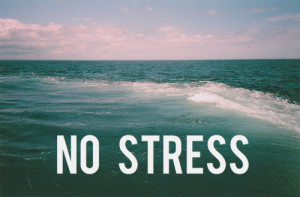 no stress during pregnancy