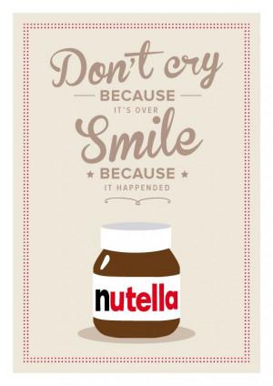 Nutella Italian Kitchen art - Quote Giclee Art Print - Customize ...