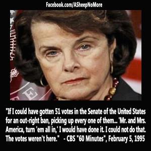 ... seedy mind in Progress ` Dianne Feinstein Quote #GOP #breitbart