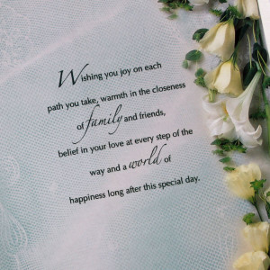 Congratulations On Your Wedding Day Quotes You on wedding