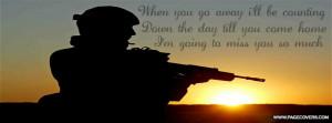 Miss My Soldier Quotes Im gunna miss my soldier .