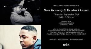 Dom Kennedy Kendrick Lamar