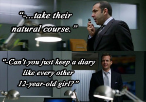 Tags: suits s02e03 Harvey Specter Louis Litt quotes dialog Gabriel ...