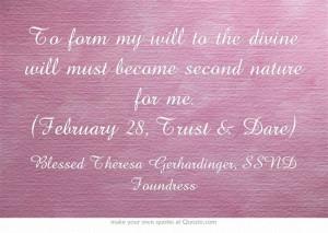 February 28, Trust & Dare