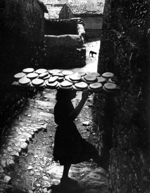 Eugene Smith: Extremadura. Town of Deleitosa, Spain, 1951.