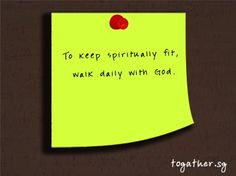 Christian fitness quote