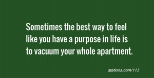 vacuum quotes