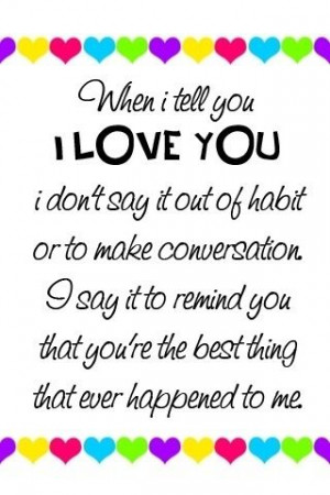 true love quotes. i love you