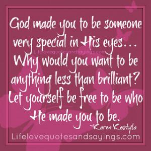 Enjoying Who God Created You to Be