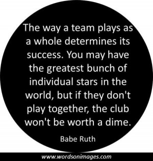 Quotes on teamwork