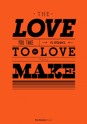 music philosophy typographic song quotes