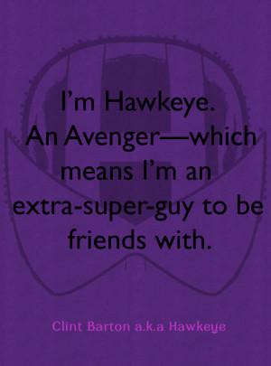 Hawkeye Comics Quote-4