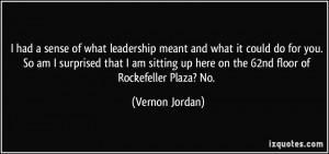 More Vernon Jordan Quotes