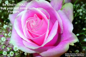 Flowers will brighten your day.
