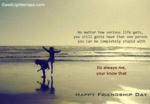 Friendship day quotes, messages, graphics for Orkut, Myspace, Facebook