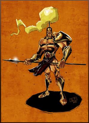 Ancient Greek Warrior Chris