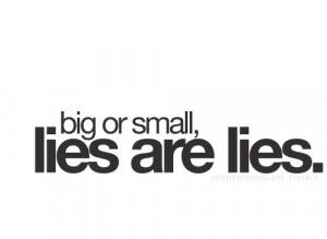 Lie Quotes (19)