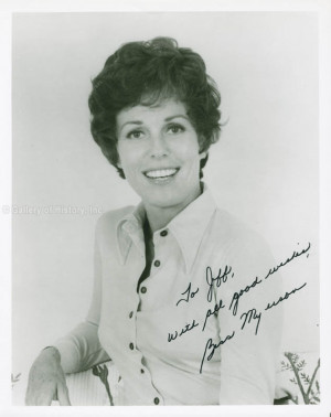 BESS MYERSON INSCRIBED PHOTOGRAPH SIGNED DOCUMENT 278236