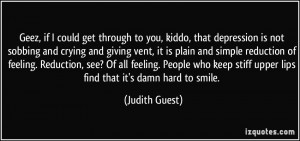 quotes about getting through depression