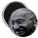 mahatma gandhi quotes power. .