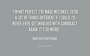 Ve Made Mistakes Quotes