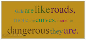 Girls With Curves Quotes