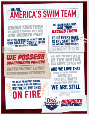 Competitive Swimming Quotes