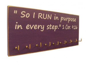 inspirational sports quotes / Running Medals by runningonthewall, $28 ...