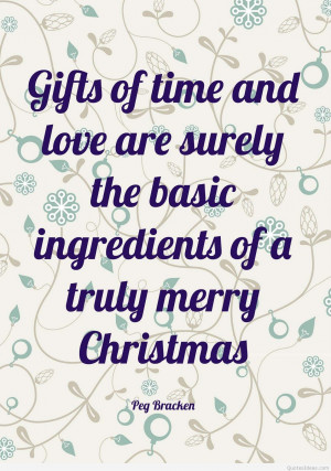 Gift of time and love are surely the basic ingredients
